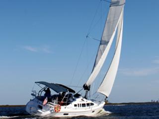 """Hunter 34"""" Sailboat"""