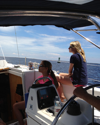 A Group Renting A Sailboat for the Day