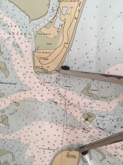 New CON Coastal Navigation class format.