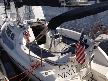 "Hunter 34"" Sailboat"